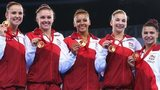 England women win gold