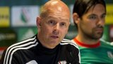 Legia Warsaw manager Henning Berg