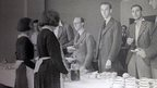 Staff at refreshment counter, taken by G.C. Farmer circa June 1934