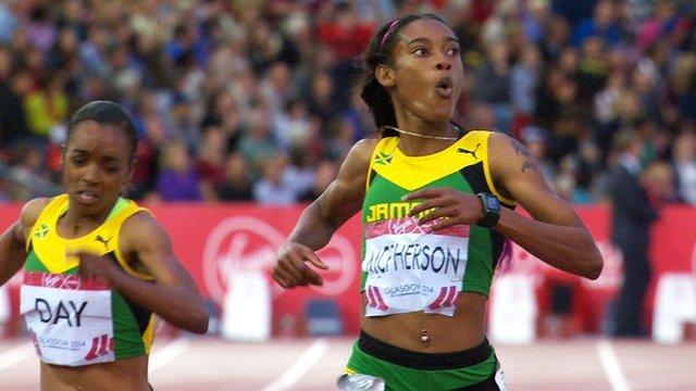 Jamaica's Stephanie McPherson