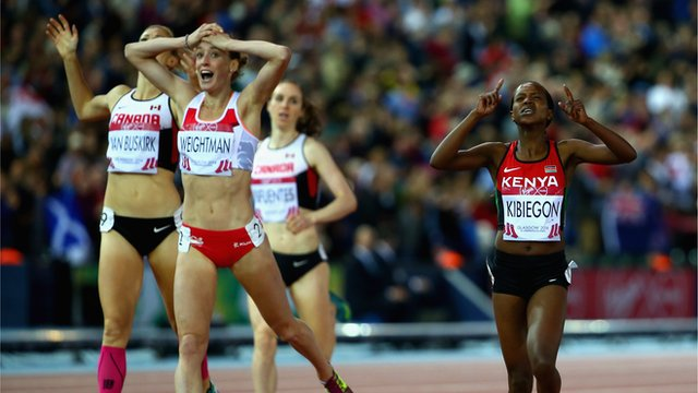 England's Laura Weightman stuns with silver in 1500m