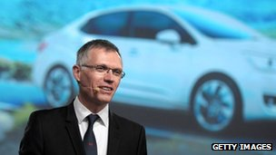 Carlos Tavares, new chief executive of PSA Peugeot Citroen, April 2014