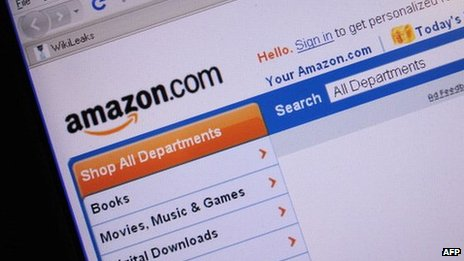 A screen shot of Amazon.com