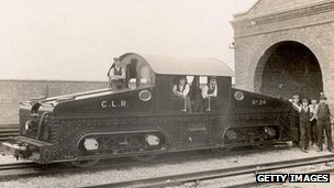 The engine used on the Central line in 1900