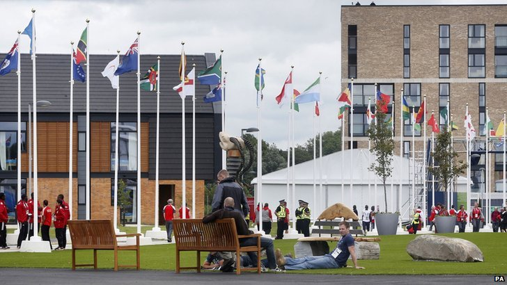 The Glasgow 2014 athletes' village