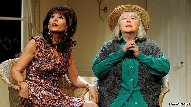 Sally Farmiloe and Judy Cornwell
