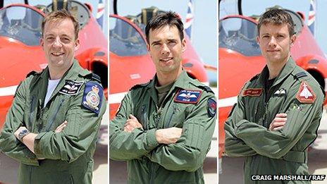(left to right) Michael Bowden; Emmet Cox; Thomas Bould