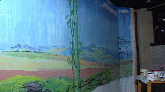 Mural in 1994