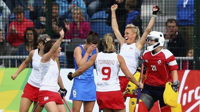 Glasgow 2014: England women's hockey team beat Scotland