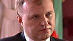 Yevgeny Shevchuk, leader of breakaway republic of Trans-Dniester