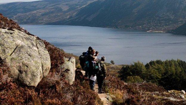 Cairngorm path survey