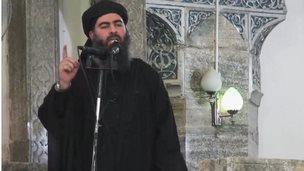 Image purported to show Abu Bakr al-Baghdadi (05/07/14)