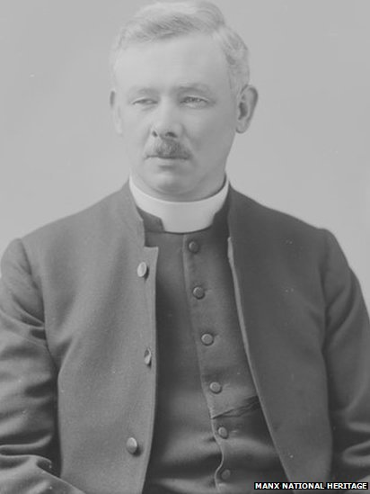 Canon Kermode, vicar of St George's Church in the Isle of Man