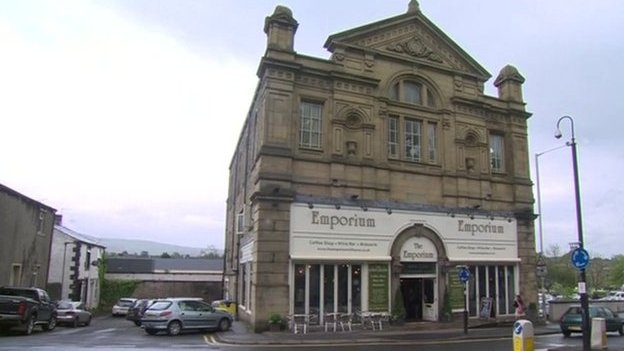 Emporium bar in Clitheroe