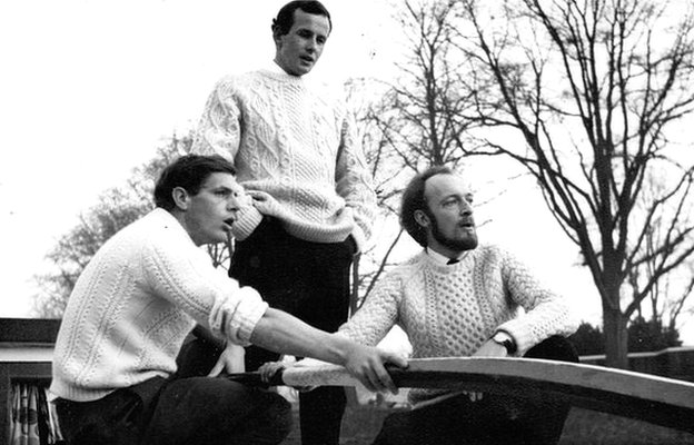 The Crofters (left to right: Dave Benford, Dick Brading, Andrew Kendon)
