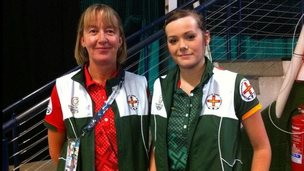 Dawn Morgan (left) and Alice Loveridge