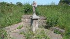 Saxon Cross at Sutton Crossways near Peterborough