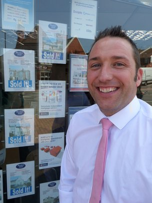 Estate agent Paul Fearon