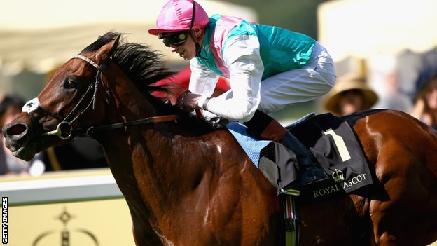 Kingman ridden by James Doyle