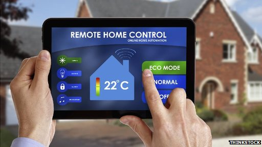 Mock-up home remote control