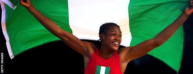 Nigeria's Odunayo Adekuoroye