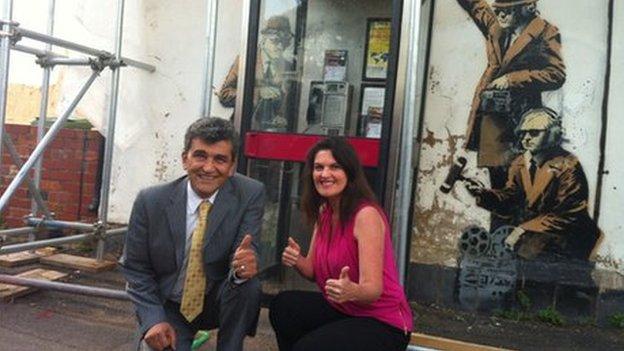Hekmat Kaveh and Angela De Souza