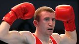 Paddy Barnes produced a dominant display to guarantee himself another major medal
