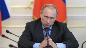 Russian President Vladimir Putin chairs a Cabinet meeting in Moscow - 30 July 2014