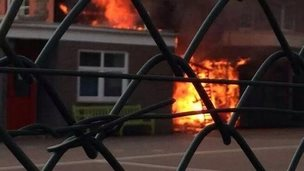 Fire at Birchgrove School, Cardiff