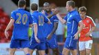 Leicester edge Walsall in friendly