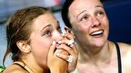Alicia Blagg and Rebecca Gallantree win diving gold for England