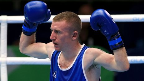 Northern Ireland's Paddy Barnes