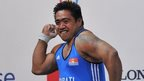 David Katoatau wins Kiribati's first ever gold
