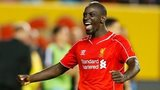 Mamadou Sakho of Liverpool celebrates