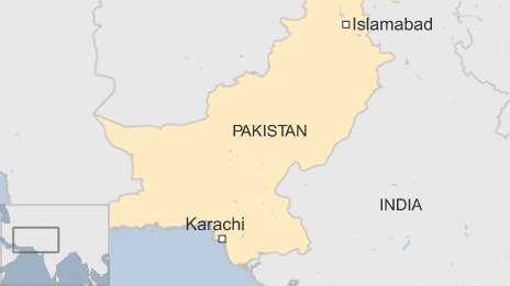 Map of Karachi
