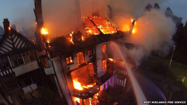 Northfield Manor House fire