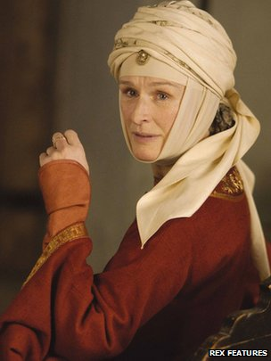 Glenn Close in The Lion in Winter