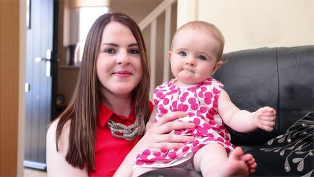 Nicola McNamee, pictured with her daughter, said she was devastated when she was dismissed from her job