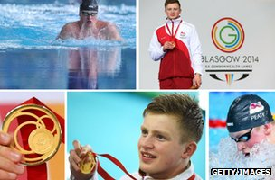 Photos of Adam Peaty