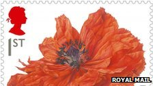Royal Mail World War I stamp