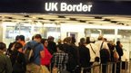 UK Border Desks in Terminal 5 of Heathrow