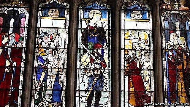 St Mary the Virgin, Fairford, Gloucestershire