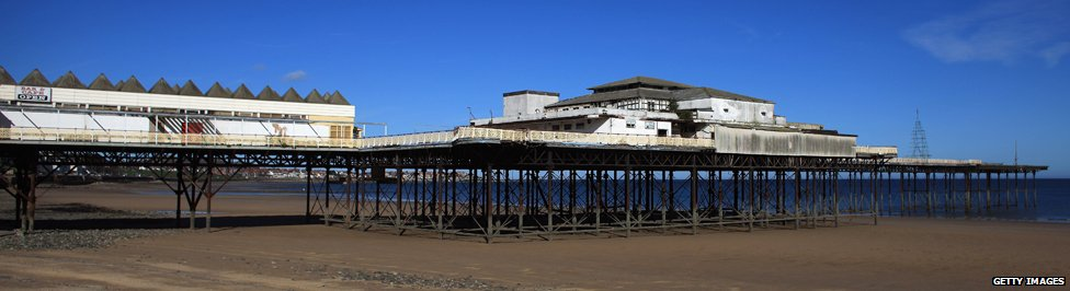 Colwyn Bay pier today