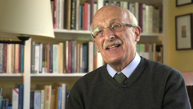 Norbert Hirschhorn smiling