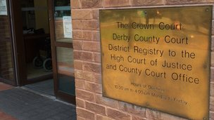 Derby Crown Court entrance