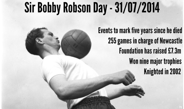 Sir Bobby Robson graphic