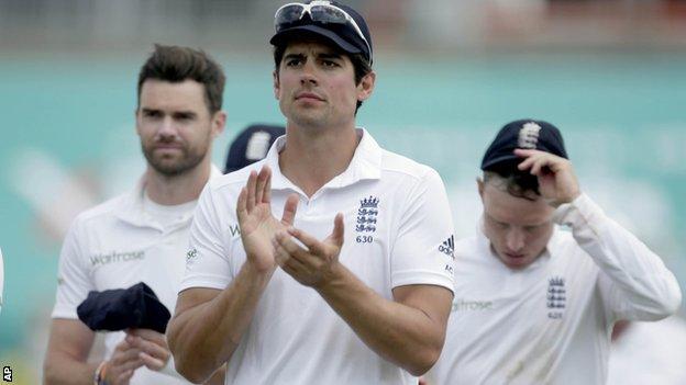 Alastair Cook, England captain