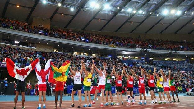 Athletes at Hamden