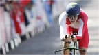 England's Alex Dowsett takes gold in men's cycling time trial