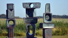 Barbara Hepworth's sculpture Family of Man